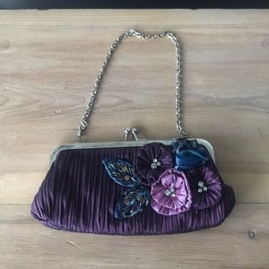 Beaded cocktail purse